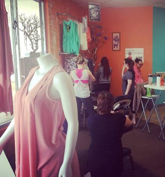 Tribal Marks and Passion Barre Boutique launch and anniversary photo