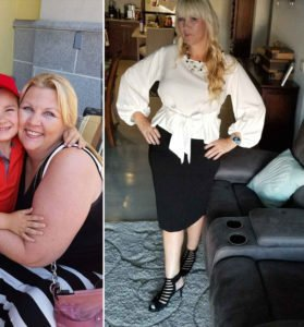 Dami and Passion Barre Client Transformation before and after shot